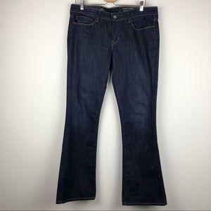 LEVI'S Skinny Boot Dark Wash Denim Jeans Size 32